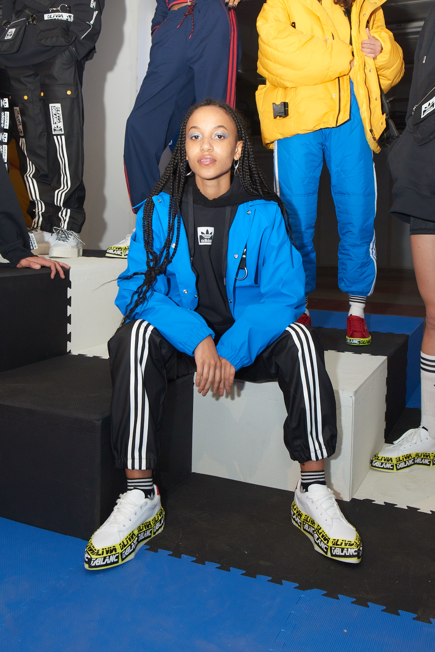 huge discount 816bb 684e9 adidas Originals by Olivia Oblanc in London   Office Magazine