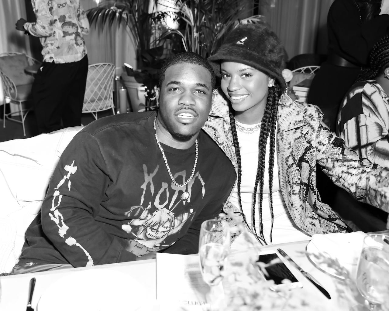 A$AP Ferg and Renell Medrano
