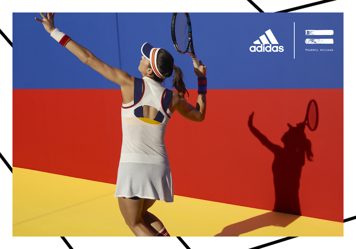 hot sales 66213 f8b34 adidas Tennis by Pharrell Williams   Office Magazine