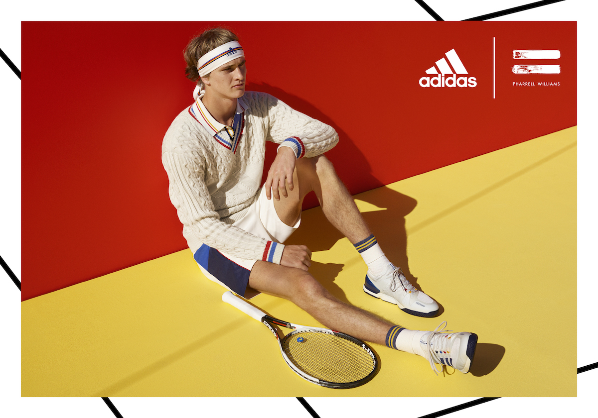 new products 89712 f20ab adidas Tennis by Pharrell Williams | Office Magazine