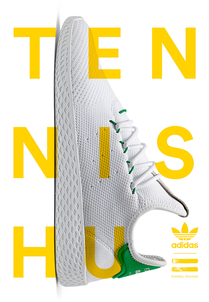 954e5a0167d Adidas Originals x Pharrell Williams   Tennis Hu