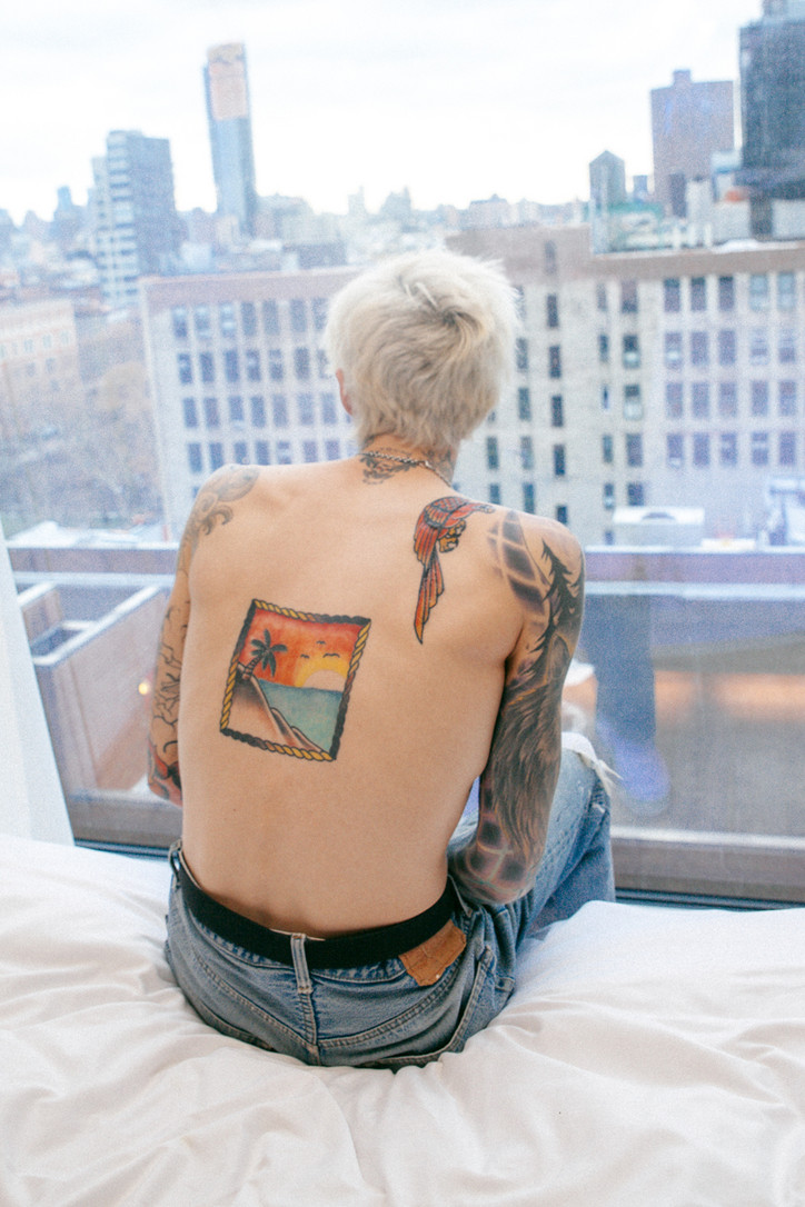 Jesse Rutherford's Blonde Ambition | Office Magazine
