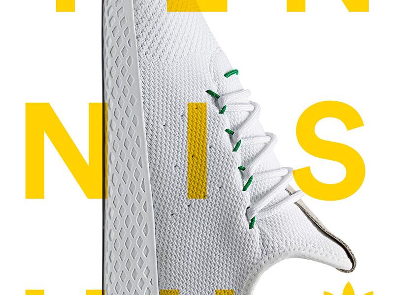 3d09f5bb3fe Adidas Originals x Pharrell Williams = Tennis Hu | Office Magazine