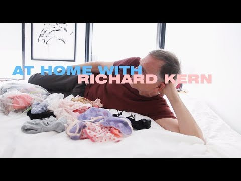 """At Home With"" No.1 -Richard Kern- By Jayne Lies For Office Magazine"