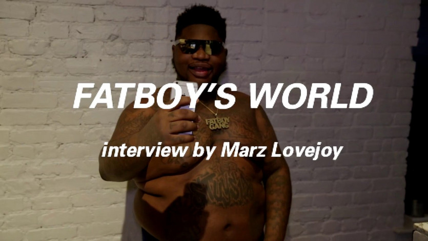 office interview with FATBOY