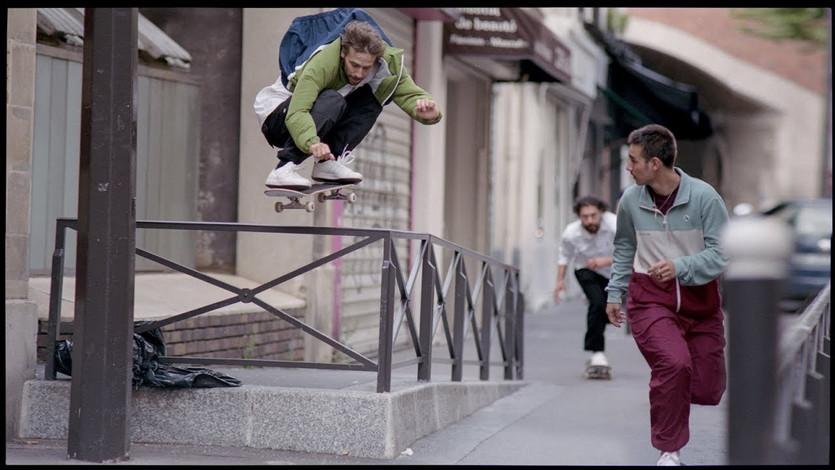 Magenta x adidas Skateboarding
